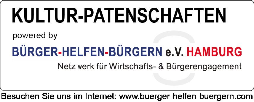 Kultur-Patenschaften Hamburg powered by BÜRGER-HELFEN-BÜRGERN e.V. HAMBURG